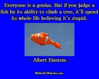 Everyone is a genius Blog