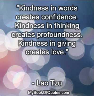 Kindness Sayings