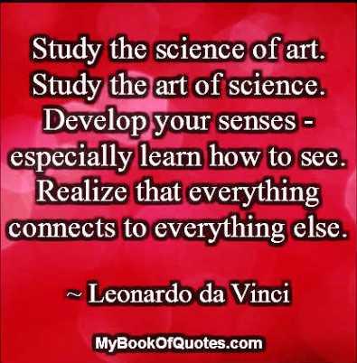 Leonardo Davinci Quotes Mybookofquotescom