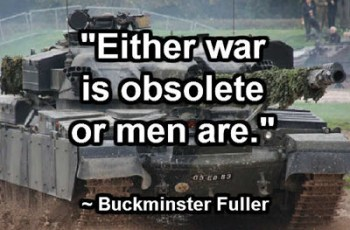 war or men obsolete