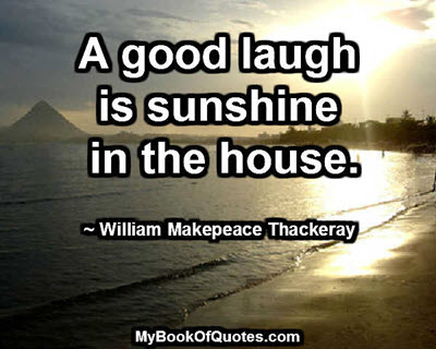 A good laugh