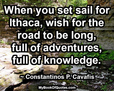 Set sail for Ithaca