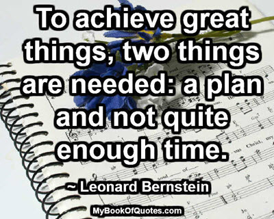 To achieve great things2