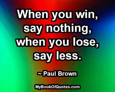 say-less