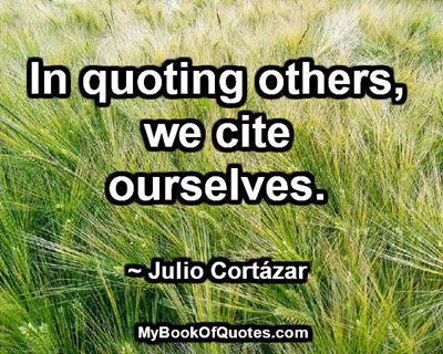 we cite ourselves