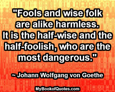 fools and wise folk