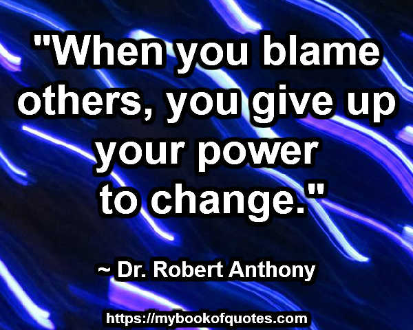 your power to change