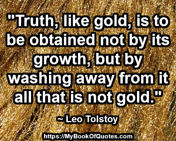 truth like gold