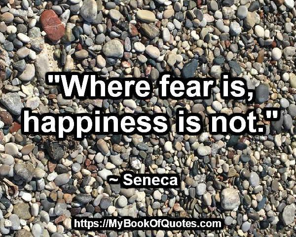 where fear is