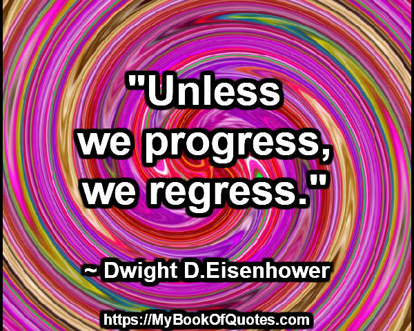 unless we progress