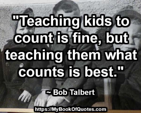 teaching kids to count