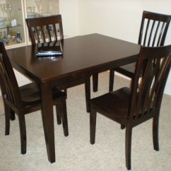 Cheap Wood Chairs Kitchen Table With 8 Dark Furniture At The Galleria