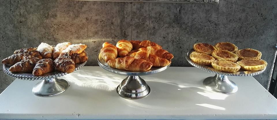 a fine selection of pastries