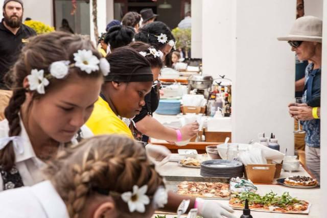 Nuy Festival food