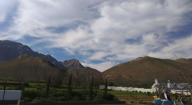 Scenic Views at Bosjes - This years Soetes en Sop.