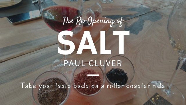 It is All About SALT at Paul Cluver!