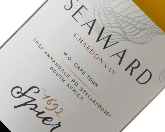 Spier Seaward Label