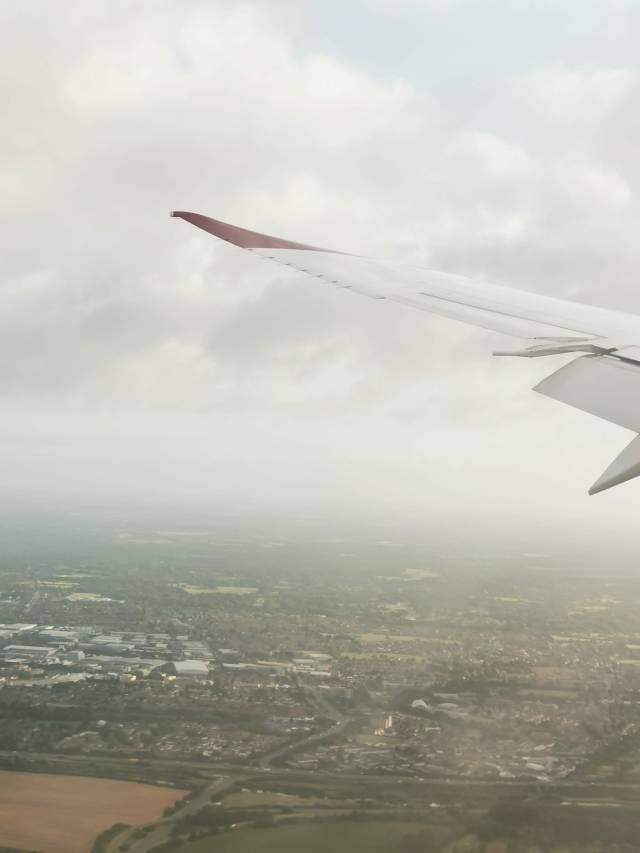Virgin Atlantic is fast approaching London heathrow