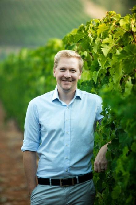 Stuart Botha Winemaker at Tokara