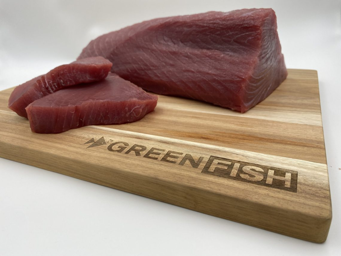 green fish tuna