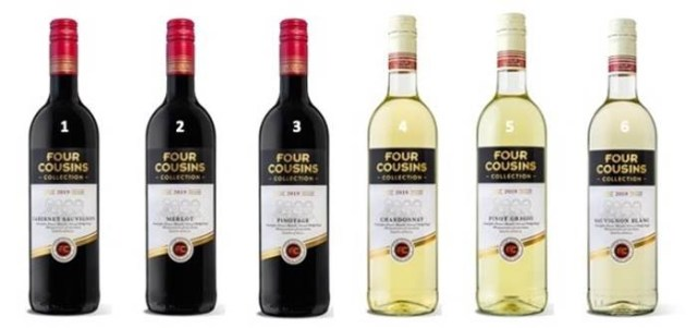 WINE NEWS: Four Cousins Introduces Revamped Collection Of Single Cultivar Wines