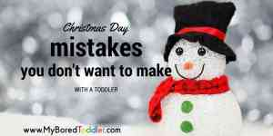5 Christmas Day mistakes you don't want to make with a toddler – especially #4