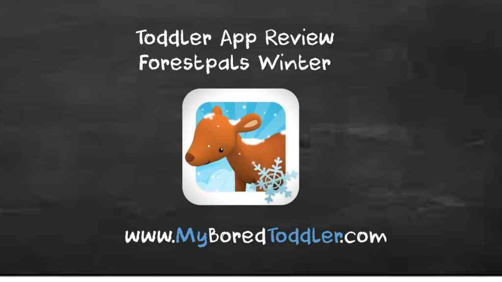 Toddler App Review – Forestpals Winter