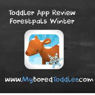 toddler app review forestpals winter