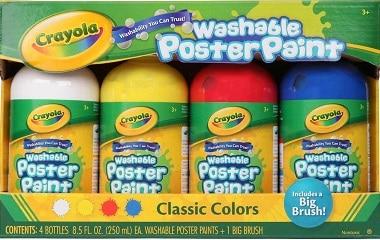 washable paints