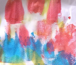 toddler painting ideas roller painting