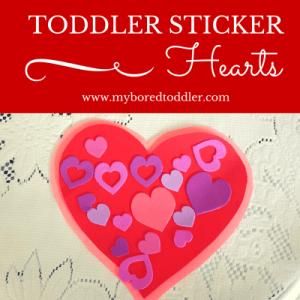 toddler craft activity valentines day heart