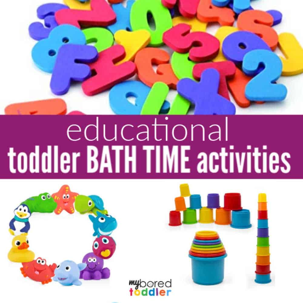 toddler bath time activities educational and fun