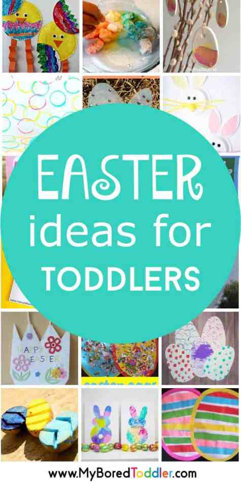 Easter Ideas for Toddlers - crafts and activities pinterest (1)