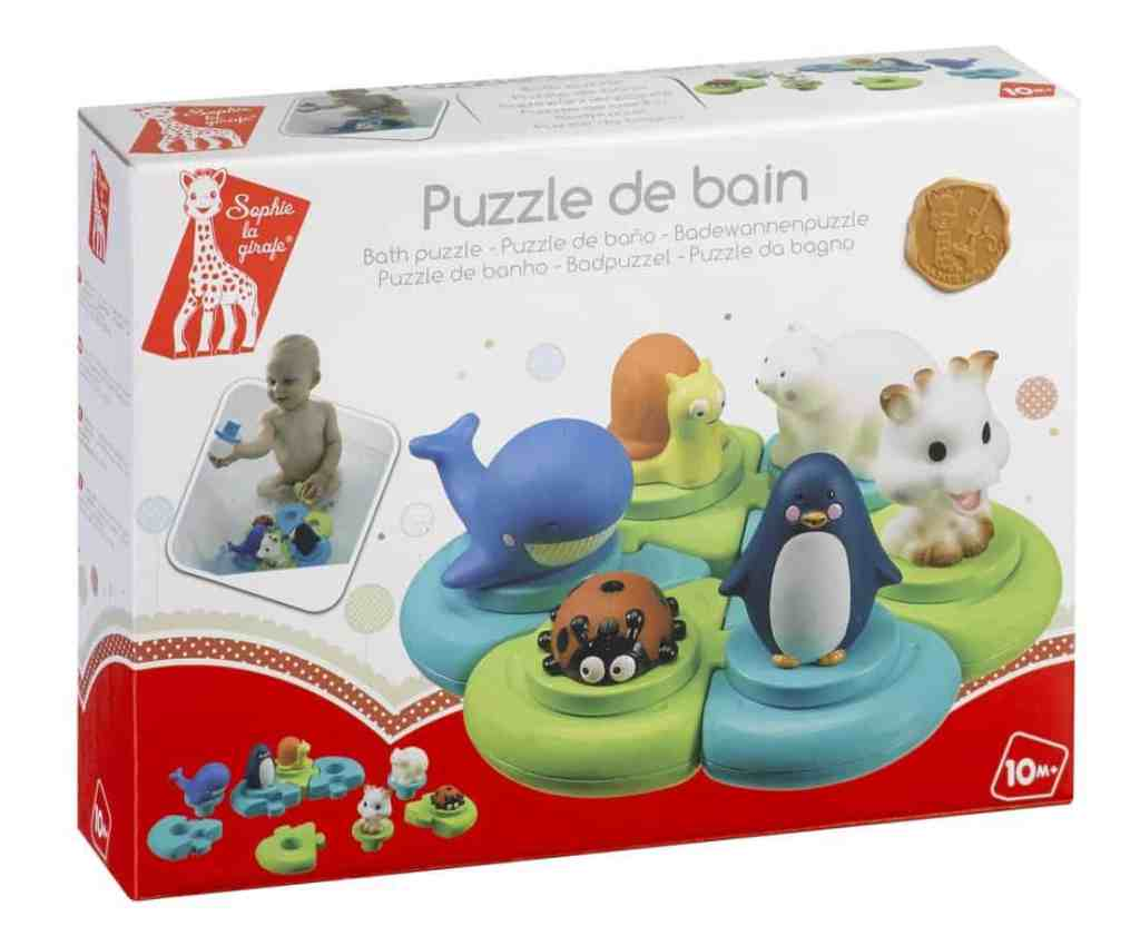 sohie the giraffe bath puzzle