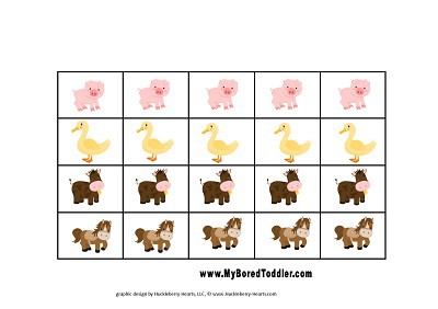 Farm reward chart for toddlers resized
