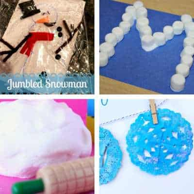 winter crafts and activities for toddlers 4
