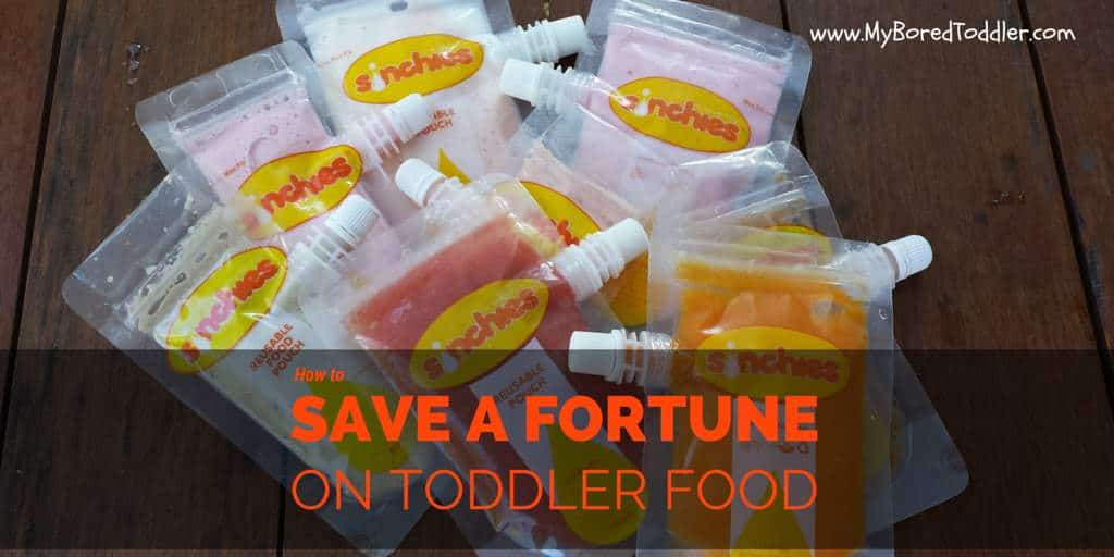 How to save a fortune on Toddler food!
