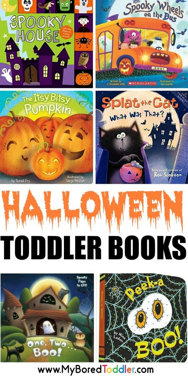 Halloween toddler books