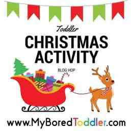 Toddler Christmas Activity Blog Hop Header