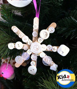snowflake-christmas-ornament-craft
