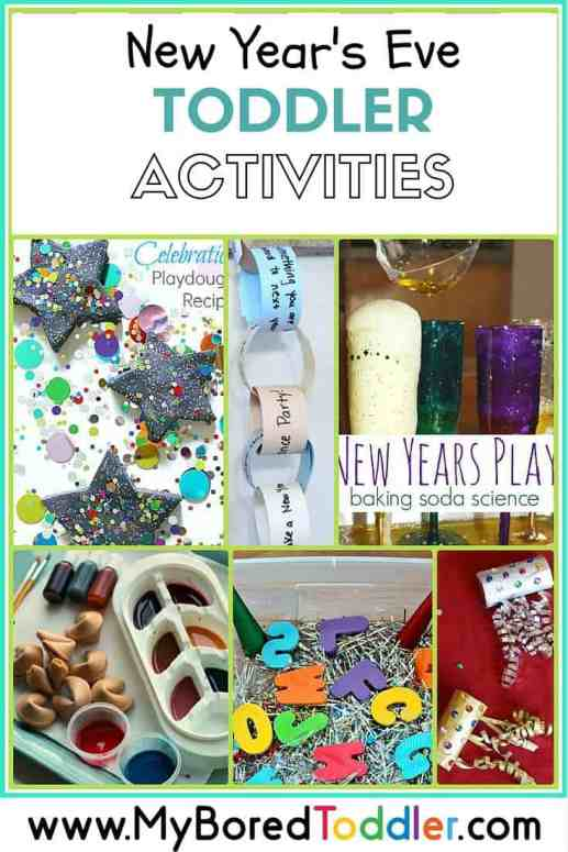 New Year's Eve Activities for Toddlers pinterest