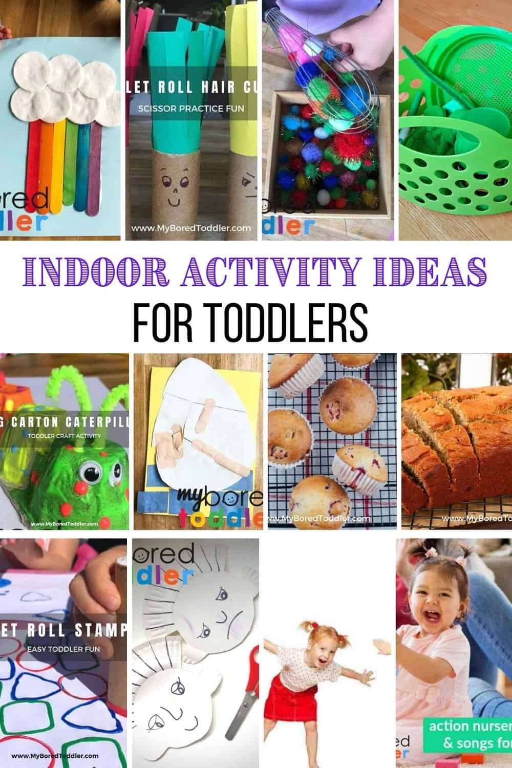 indoor activity ideas for toddlers pinterest