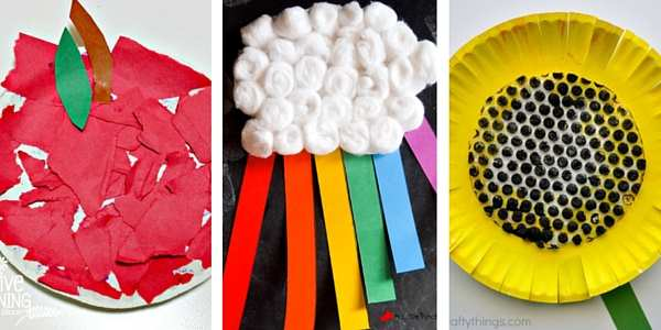 paper plate crafts for toddlers 3
