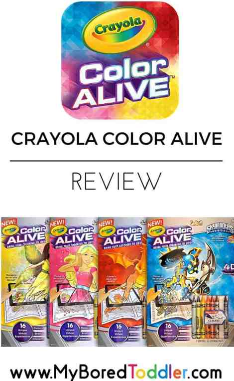 crayola color alive review pinterest