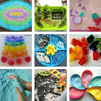 sensory bins for toddlers square