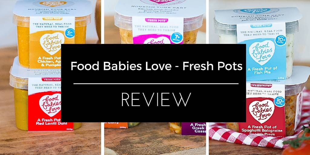 Quick & Easy Toddler Meals with Fresh Pots