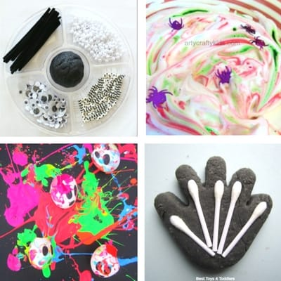Halloween Sensory Play idea toddlers