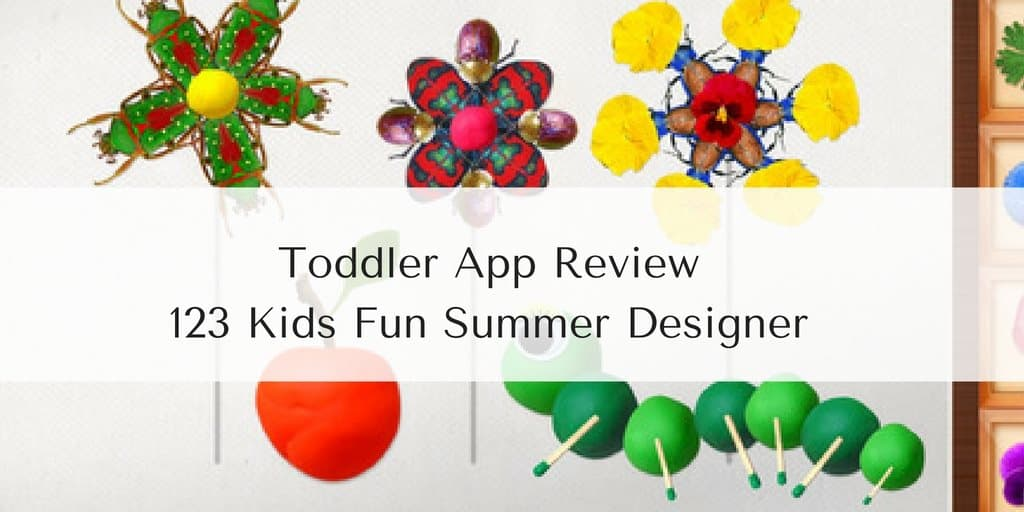 Toddler App Review – 123 Kids Fun Summer Designer