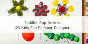 Toddler App Review – 123 Kids Fun Summer Designer