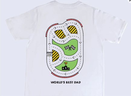 road massage t-shirt